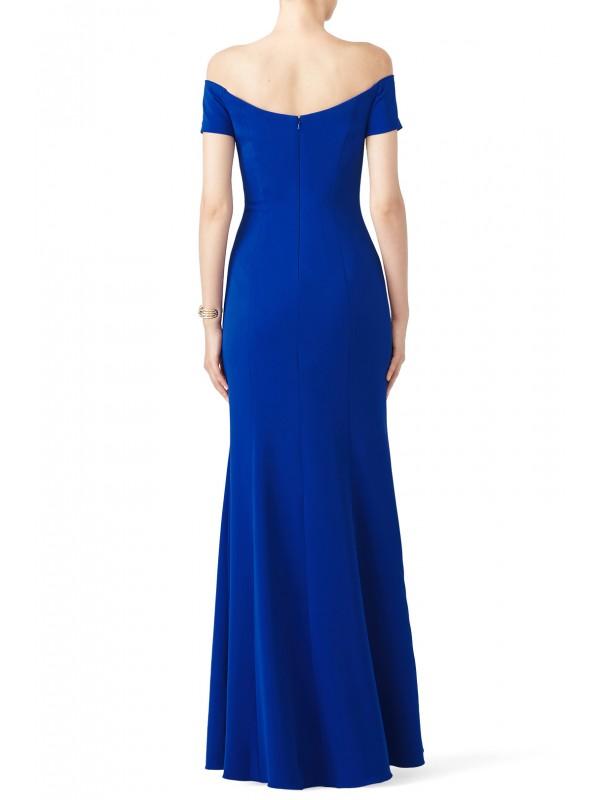 Cobalt Sweetheart Gown