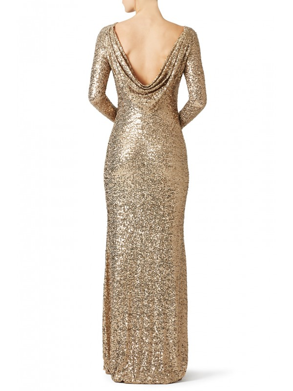 Gold Dara Gown