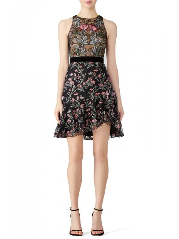 Floral Rose Dress