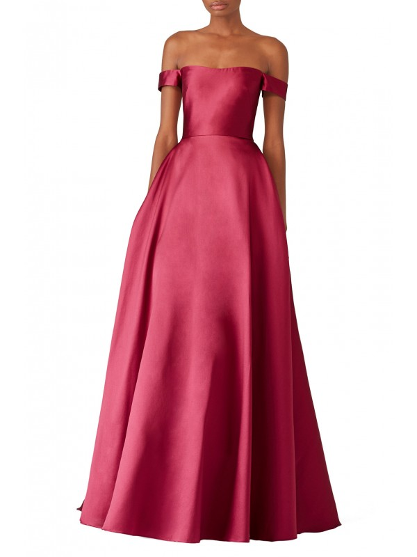 Raspberry Romance Gown