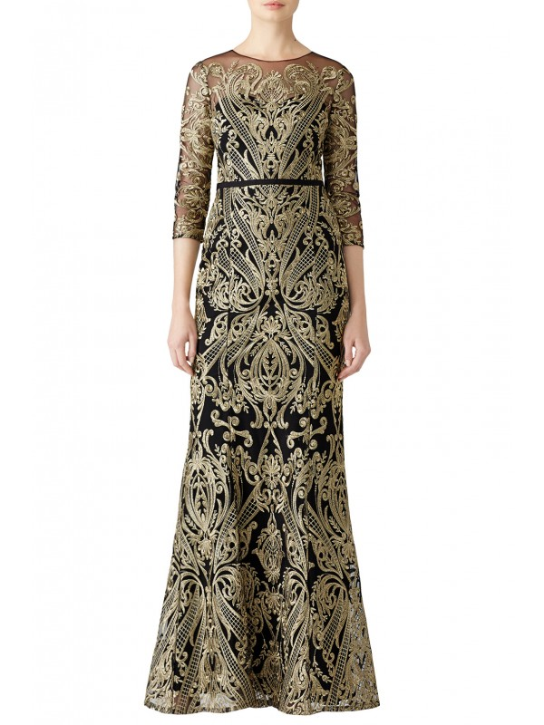 Moises Embroidered Gown