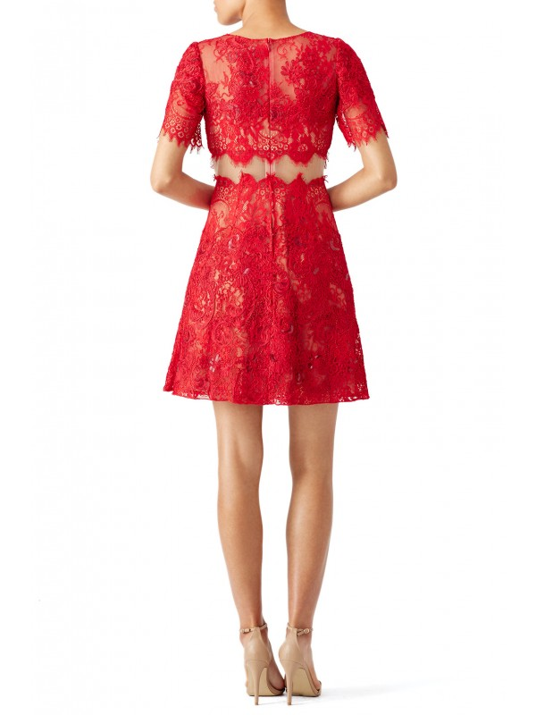 Red Diane Dress