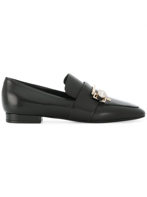 COLIAC CRYSTAL-EMBELLISHED LOAFERS