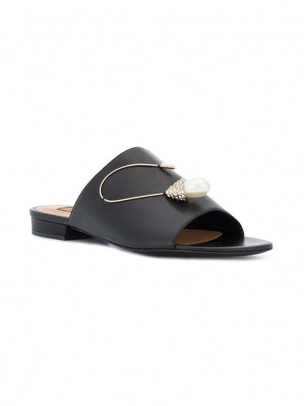COLIAC EMBELLISHED OPEN-TOE SANDEL