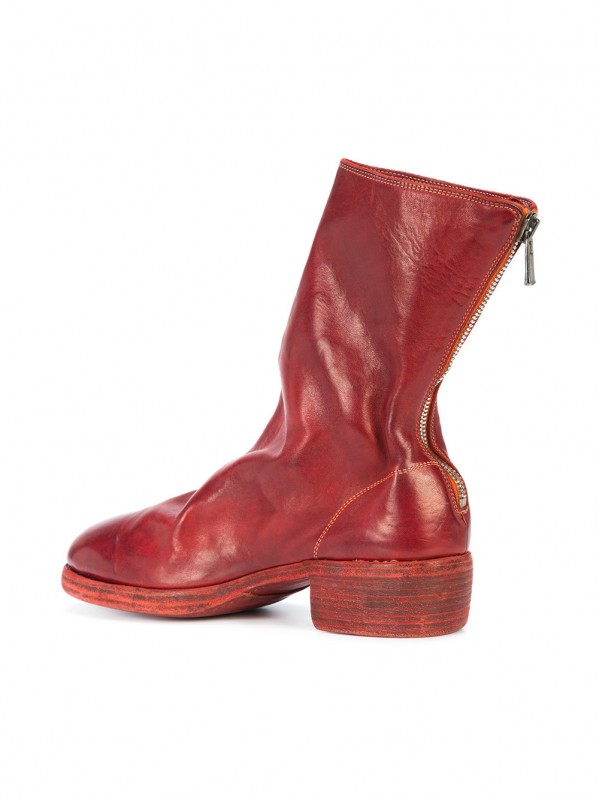 Guidi zip-up fitted boots PL788