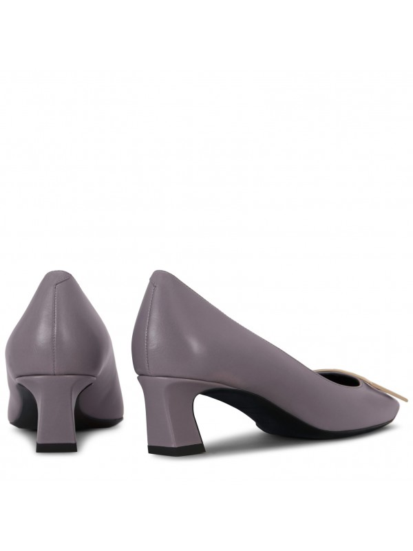 VIVIER Belle Vivier Trompette Pumps in Patent Leather 4.5CM