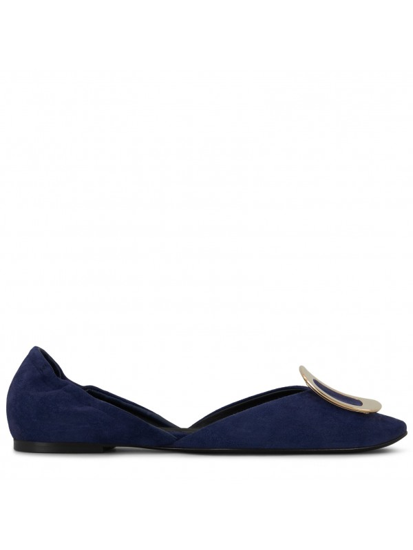 VIVIER Chips Ballerinas in Patent Leather